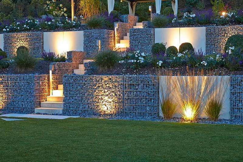 Gartengestaltung Beleuchtungsplanung
