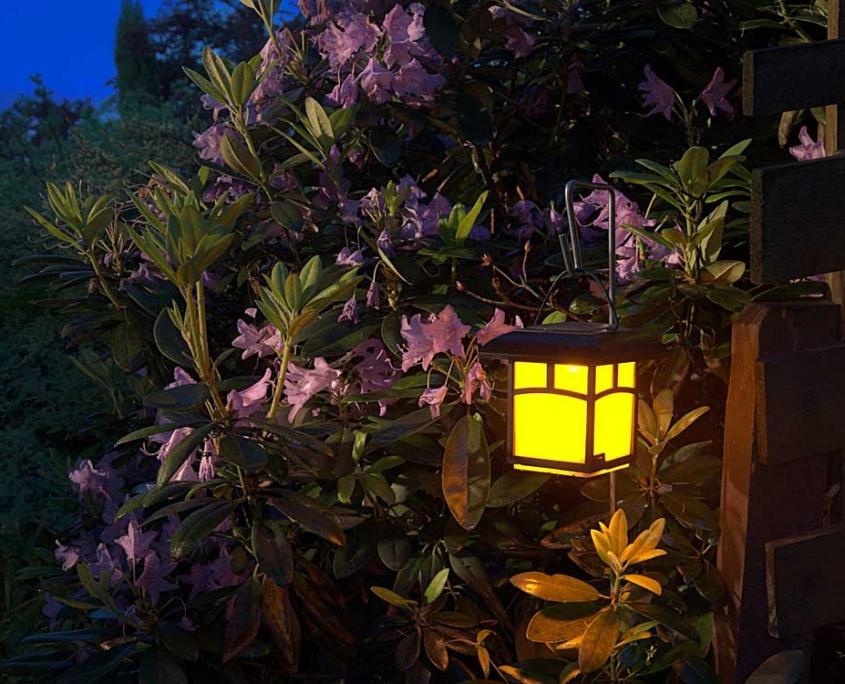 Berisha Gartengestaltung Beleuchtung